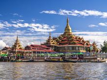 Phaung Daw Oo Pagoda, Inle Lake, Shan State, Myanmar