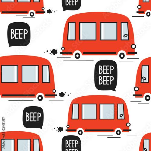 czerwone-autobusy-recznie-rysowane-tla-kolorowy