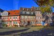 In der Altstadt von Frankfurt-Hoechst, Hessen, Deutschland