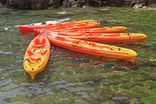 Sea Kayaks Orange