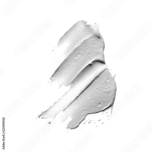 Paint smudge isolated on white background vector Fototapete