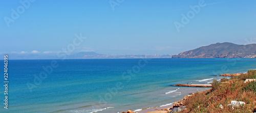 Algérie, la Corniche Oranaise
