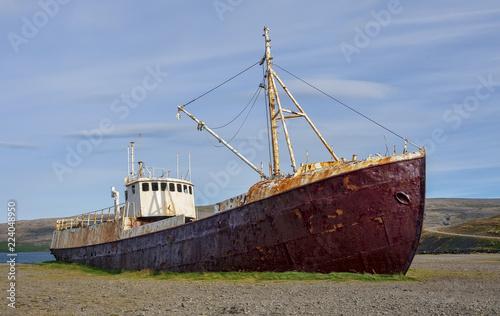 Poster Naufrage Icelandic shipwreck