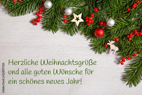 Weihnachtsgrüße Text.Weihnachtsgrüße Weihnachtlicher Hintergrund Buy This Stock Photo