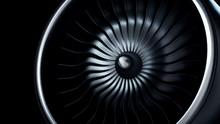 3d Illustration Of Jet Engine,...