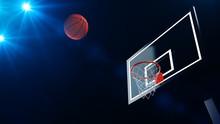 3D Illustration Of Basketball ...