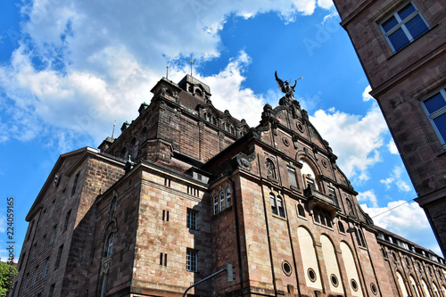In de dag Monument Sunny day in Nuremberg