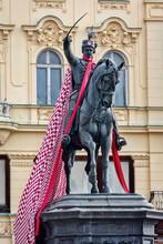 Statue Of Ban Josip Jelacic, E...