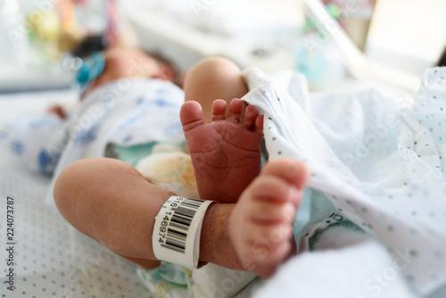 Fotografija Pies de recién nacido con código de identificación 02