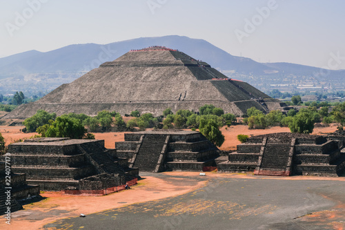 Sun's pyramid at Teotihuacan
