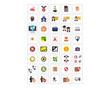 mixed variation people and camera icon image vector logo symbol set