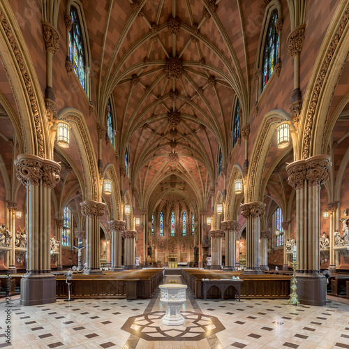 Valokuvatapetti Cathedral of the Immaculate Conception in Albany, New York