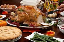 Carving Pepper Turkey For Thanksgiving