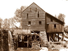 Sepia Mill