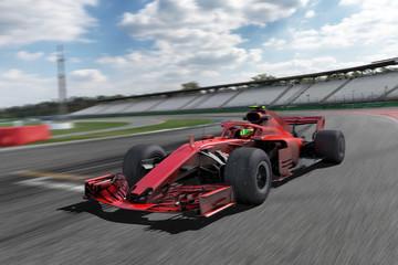 Fototapeta Motorsport Rennwagen CG