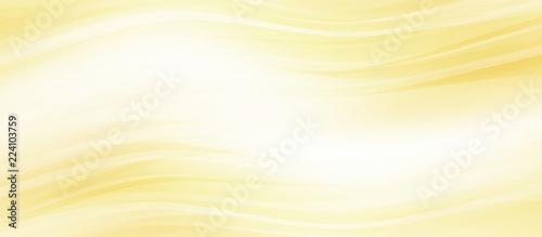 Obraz 光輝くウェーブ 金色と黄色の背景   - fototapety do salonu
