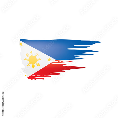 Funky Philippine Independence Day Card In Vector Format