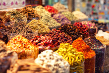 Arabic Spices At The Market So...
