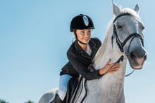 Attractive Female Equestrian R...
