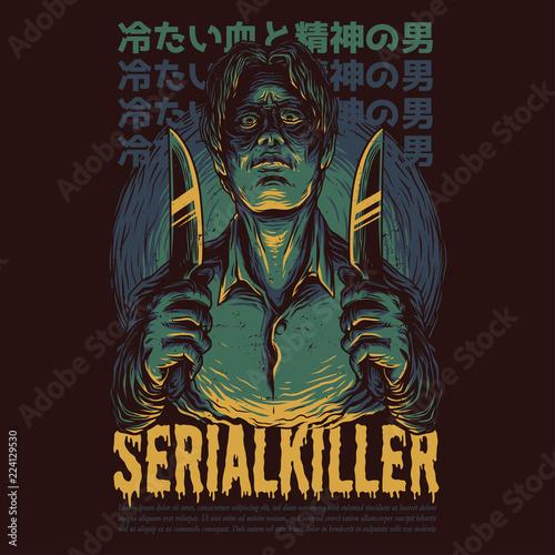 Obraz na plátne Serial Killer