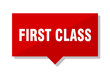 first class red tag