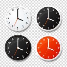 Realistic Detailed 3d Clock Te...
