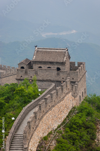 Deurstickers Chinese Muur Great Wall of China at Badaling - Beijing