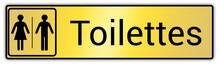 Panneau En France : Toilettes ...