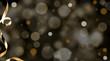 canvas print picture - Weihnachten Glamour Hintergrund