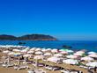 Strand in Es Figueral auf Ibiza