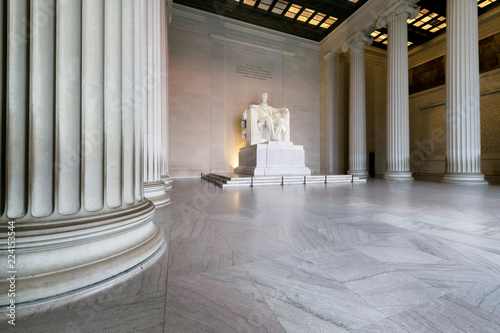 Abraham Lincoln Memorial building, Washington DC, USA