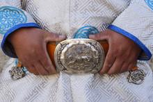Mongolian Belt Buckle