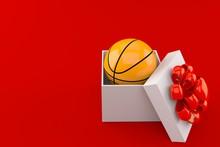 Basketball Ball Inside Gift
