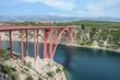 Bridge over the river in Dalmatien