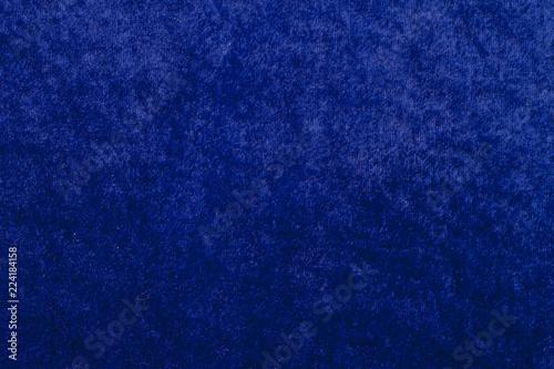 Fotografia  Background and texture of Felt floor blue color.