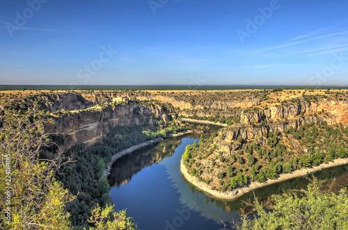 Gorges of the Duraton river, Castilla y Leon, Spain