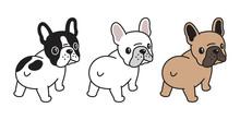 Dog Vector French Bulldog Logo Icon Cartoon Character Illustration Symbol