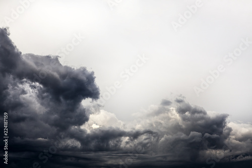 Foto  Storm Clouds Background