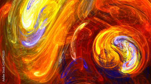 Stained glass. Neon pattern. 3D surreal illustration. Sacred geometry. Mysterious psychedelic relaxation pattern. Fractal abstract texture. Digital artwork graphic astrology magic