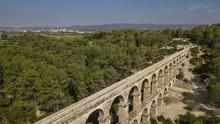 Pont Del Diable. Roman Aqueduct Of Tarragona, Catalonia, Spain