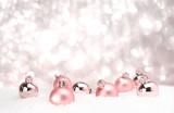 Fototapeta Perspektywa 3d - Weihnachtsdeko zur individuellen Verwendung