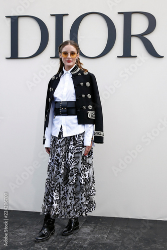 Olivia Palermo Poses During A Photocall Before The Spring Summer