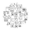 business office supplies equipment applications