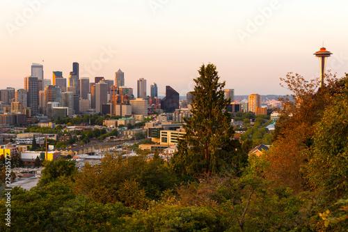 Keuken foto achterwand Verenigde Staten Downtown Seattle, Washington State, USA