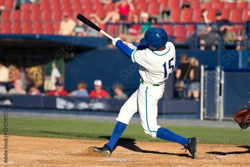 Valokuvatapetti baseball player hitting
