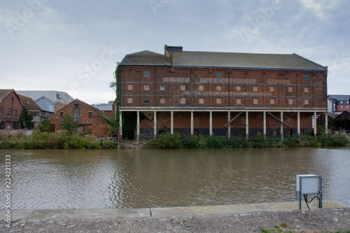 Photo  Old warehouse buildings at Gloucester Historic Docks