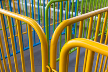 Handrail Tubes Painted