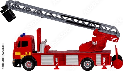 Fotografia  Toy/model fire engine