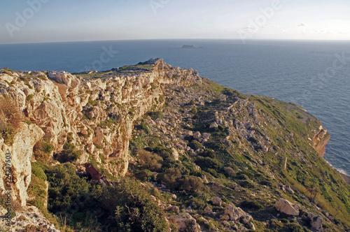 Fotografia  Panorama of Dingli Cliffs, Malta