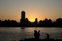 Sunset At Itajai, Brazil